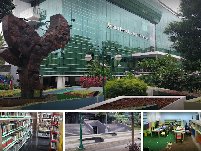 Wisata Literasi di Dinas Perpustakaan dan Arsip Kota Bandung