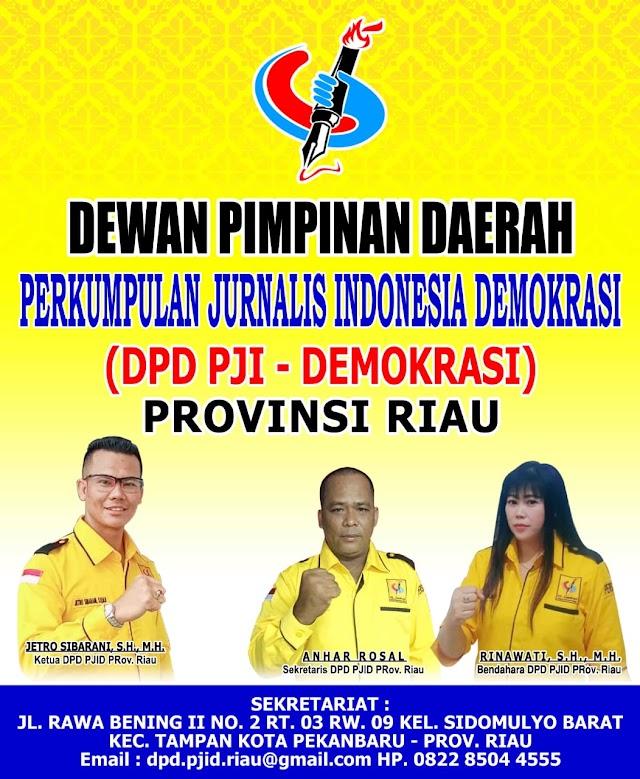 Pengurus PJI Demokrasi Riau Akan Segera Dilantik