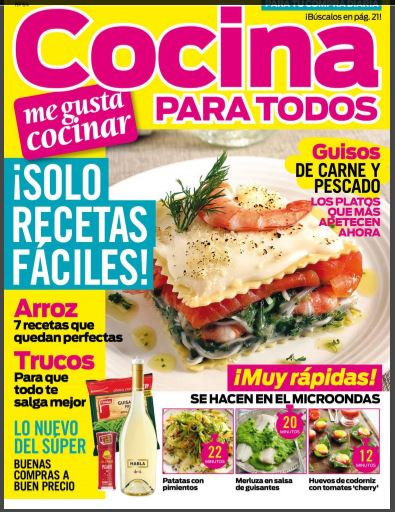 Revista de Cocina para todos  Blog de palma2mex