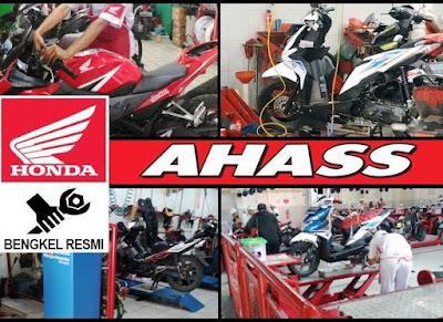 alamat bengkel Ahass Jakarta Pusat