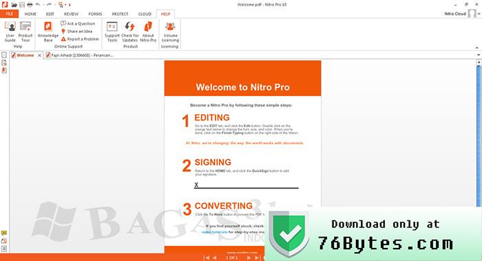 nitro pdf editor 10 crack