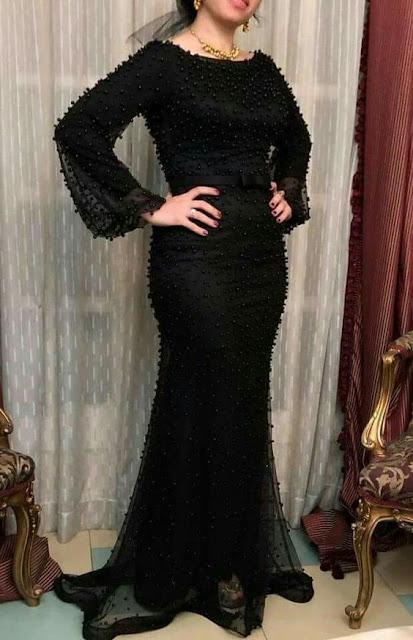 الفساتين السوداء للمحجبات