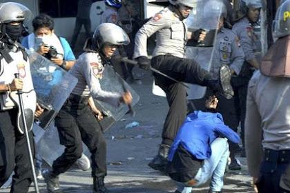 Video Detik-detik Wartawan Dikeroyok Oknum Polisi, Demo di Depan DPRD Sulsel