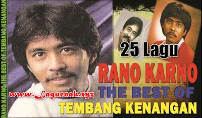 25 Lagu Lawas Rano Karno Mp3 Full Album Terbaik ( Tembang Kenangan ) Paling The Best