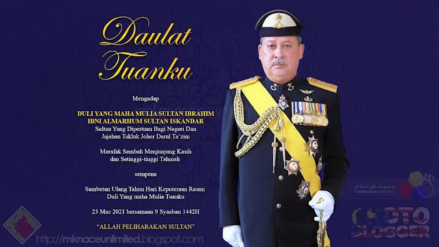 Hari Keputeraan Rasmi Duli Yang Maha Mulia Sultan Johor