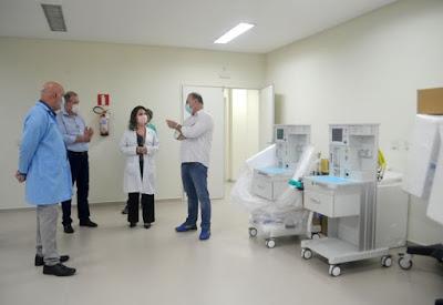 Registro-SP recebe 8 respiradores e 2 aparelhos de anestesia do Governo do Estado e pode ampliar a capacidade de atendimento para Covid-19