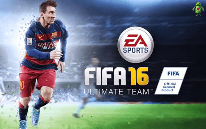 شرح تحميل لعبة كرة القدم  FIFA 16 APK OBB DATA