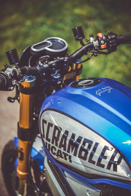 Ducati Scrambler By CC Racing Garage Hell Kustom