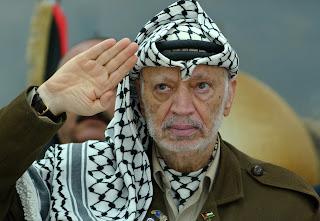 Yasser Arafat Hand Print Palmistry
