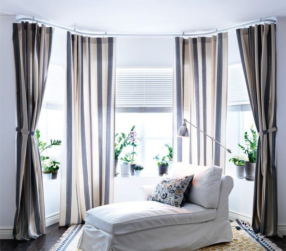 I M Ready To Kick Off Our Master Bedroom Makeover Starting With Curtains For The Bay Window Have You Priced Curtain Rods Windows Yowza