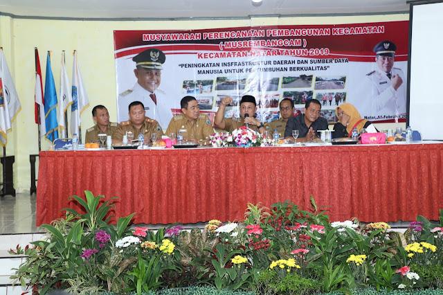 Pemkab Lamsel Akan Kucurkan Dana 78 Miliar Untuk Kecamatan Natar