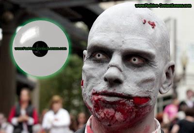 Basic White Halloween Contact Lenses