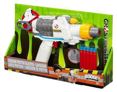 TOYS : JUGUETES - BOOMco : Cazafantasmas  Sidearm Proton Blaster | Lanzador - Pistola  Producto Oficial Ghostbusters 2016 | Mattel DRW71 | A partir de 6 años  Comprar en Amazon España & buy Amazon USA