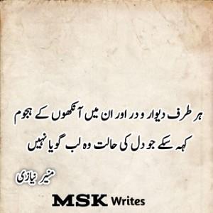 Poetry Of Munir Niazi