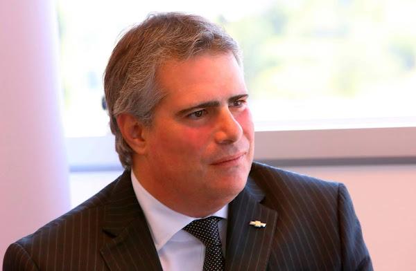 GM anuncia a saída de Carlos Zarlenga da presidência na América do Sul
