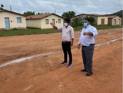 Piatã:  A comunidade do Cipó de Inúbia será contemplada com pavimentação asfáltica