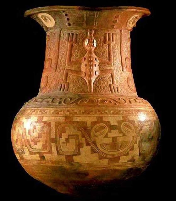 Urna funerária, cultura marajoara, ilha de Marajó, Amazônia