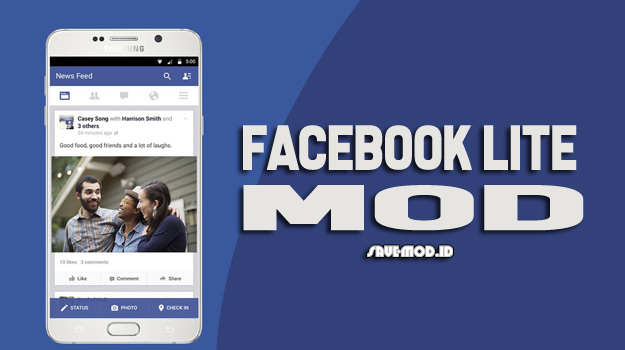 Download FB Lite MOD APK Full Theme Terbaru 2019
