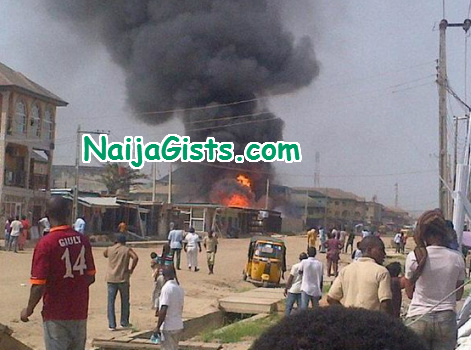 gas explosion lagos beer parlour