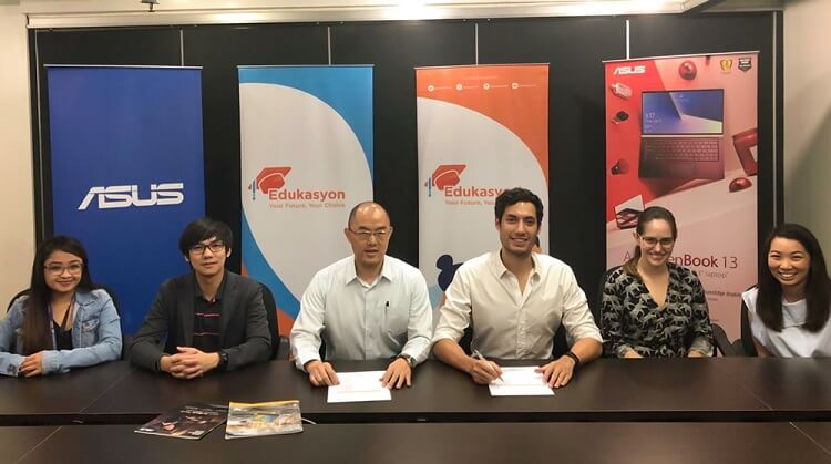 ASUS Philippines, Edukasyon Officially Inked Its Partnership