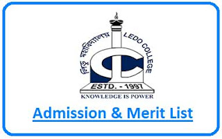 Ledo College Merit List