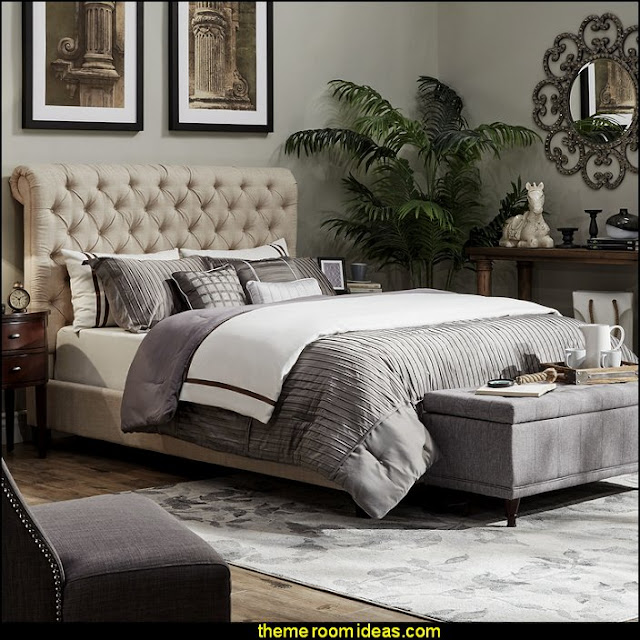 bedroom ideas - bedroom decorating - bedroom furniture - bedding - bedroom decor - master bedroom designs - bedroom style ideas - adult bedroom decorating ideas - Master bedroom themes