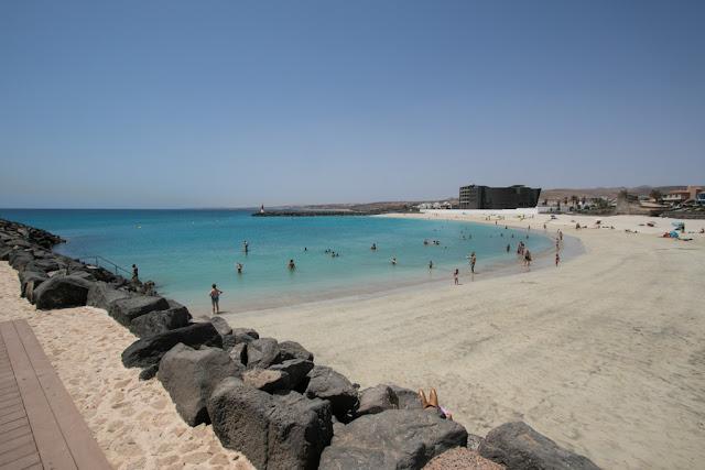Spiaggia a Puerto del Rosario-Fuerteventura