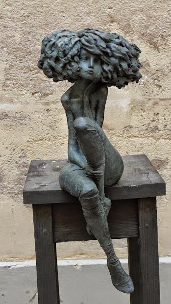 Figurative Clay Art Sculptures