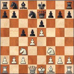 Partida de ajedrez Pepita Ferrer - María Luisa Gutiérrez, 1961, posición después de 7…c5?