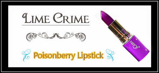 The Crow and the Powderpuff | A Creative Makeup & Beauty Blog: Lime Crime - Poisonberry Lipstick Review, Swatches, Photos