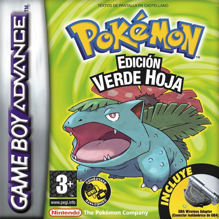 Pokémon Leaf Green ROM GBA
