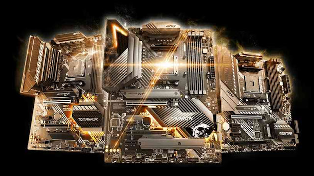 Zen 3 run on the B450 and X470 motherboards from MSI