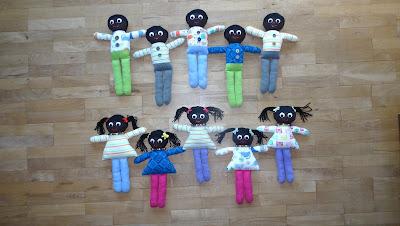 Lalki dla dzieci z Kenii