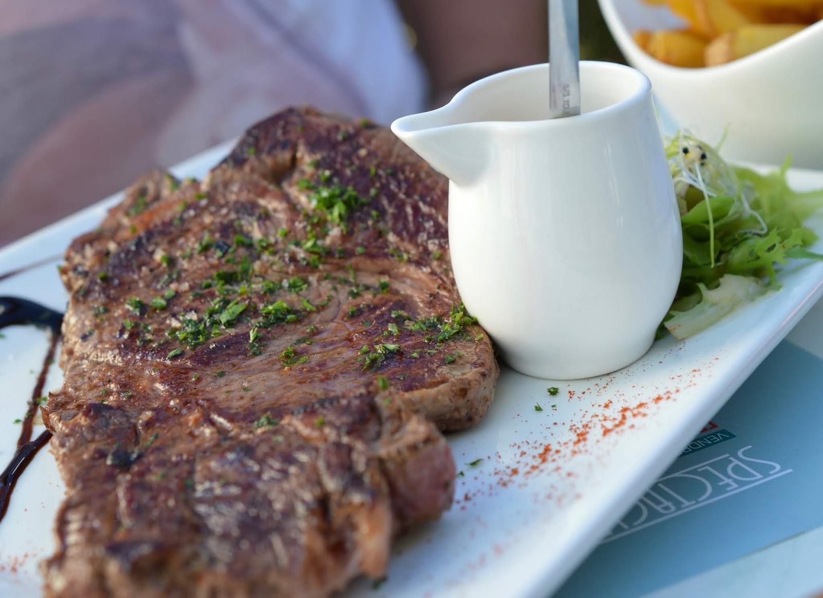 Les Ecureuils Campsite, Vendee - A Eurocamp Site near Puy du Fou (Full Review) - Steak from Amy's House