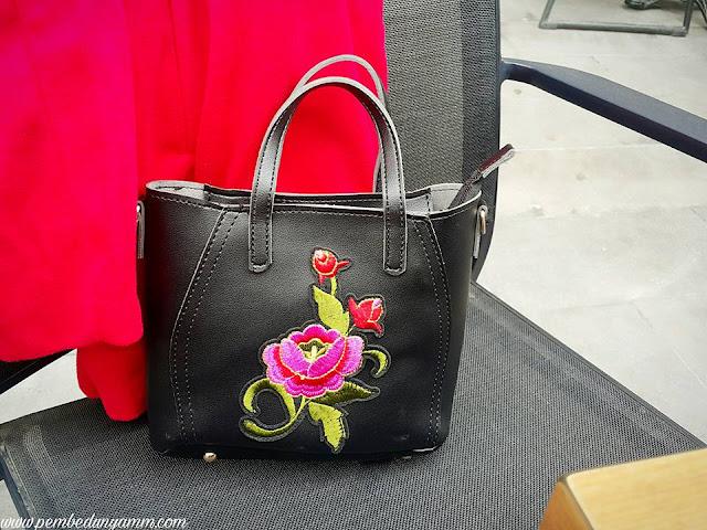 nakışlı çanta