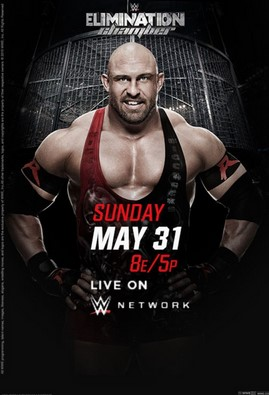 WWE Elimination Chamber (2015) HDTV 750MB