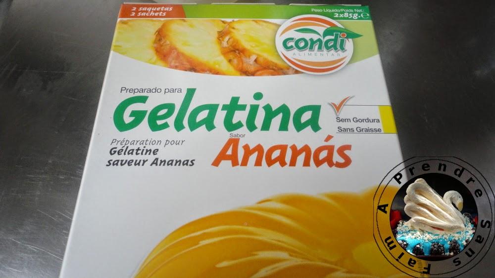 Vermicelles d'ananas à la sauce aux framboises (pas à pas en photos)