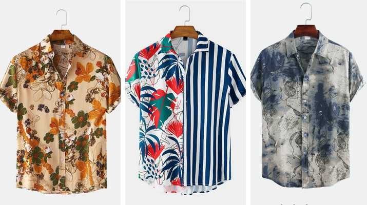 designer shirts mens Newchic