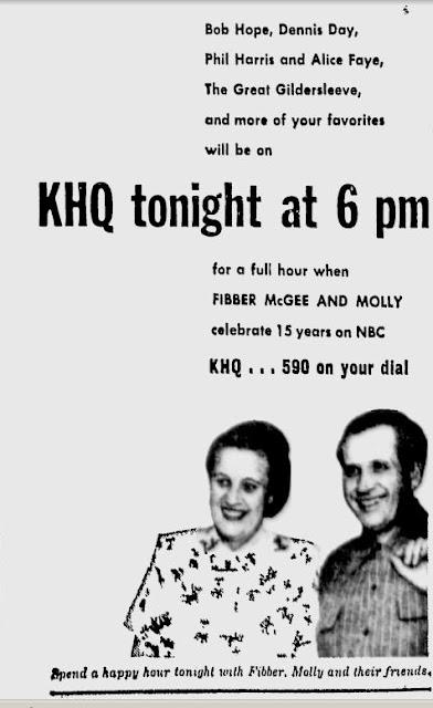 OTR Advertisements: Fibber McGee and Molly (Johnson's Wax
