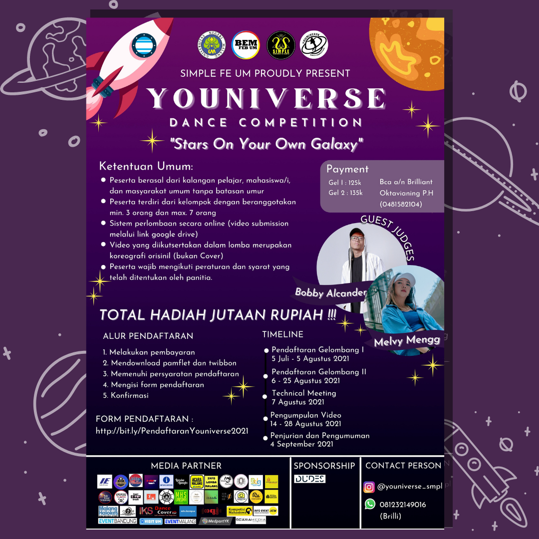 YOUNIVERSE DANCE COMPETITION 2021