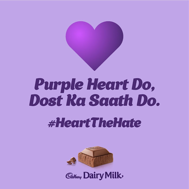 Cadbury Dairy Milk's 'Purple Heart' Campaign Takes on Cyber Bullying