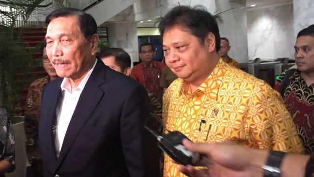 Jokowi Dikabarkan Tunjuk Luhut-Airlangga Sebagai Koordinator PPKM Darurat