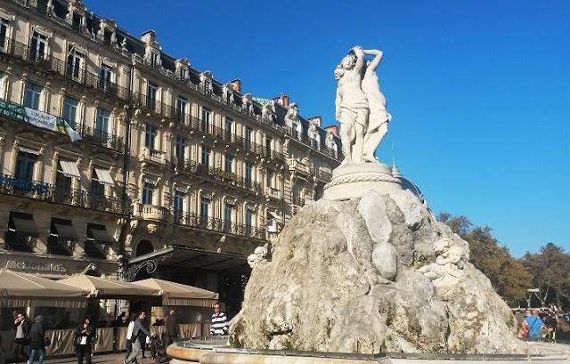 Place de la Comédie montpellier francia