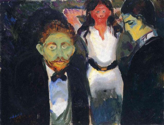 Эдвард Мунк - Ревность. 1907