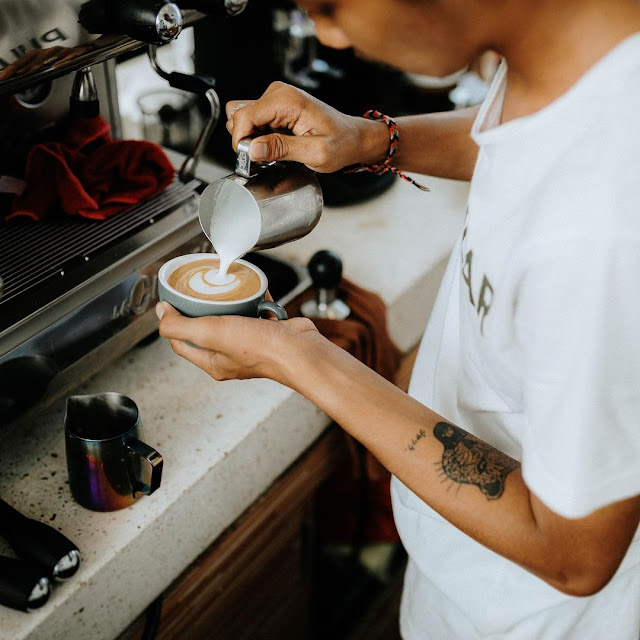 Cafe Hits di Kintamani Bali