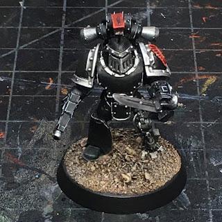 Horus Heresy Dark Angels Command Squad Veteran WIP