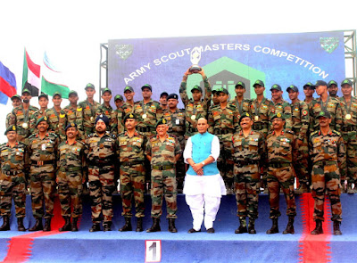 Indian Army wins International Army Scout Masters Competition 2019 at Jaisalmer