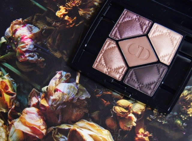 Dior 5 Couleurs Eyeshadow Palette 796 Cuir Cannage Swatches Review Warm Brown Plum Undertone Bronze Shades