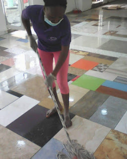 I Started my cleaning business with N4500 and make a profit of N500- Moyo Jegede