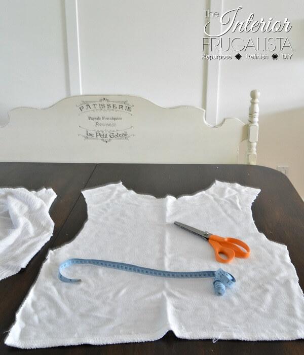 Cotton Terry Knit Sweater Pumpkins Shirt Taken Apart